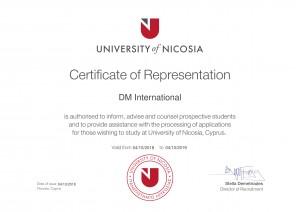European Cyprus Nicosia university DMI